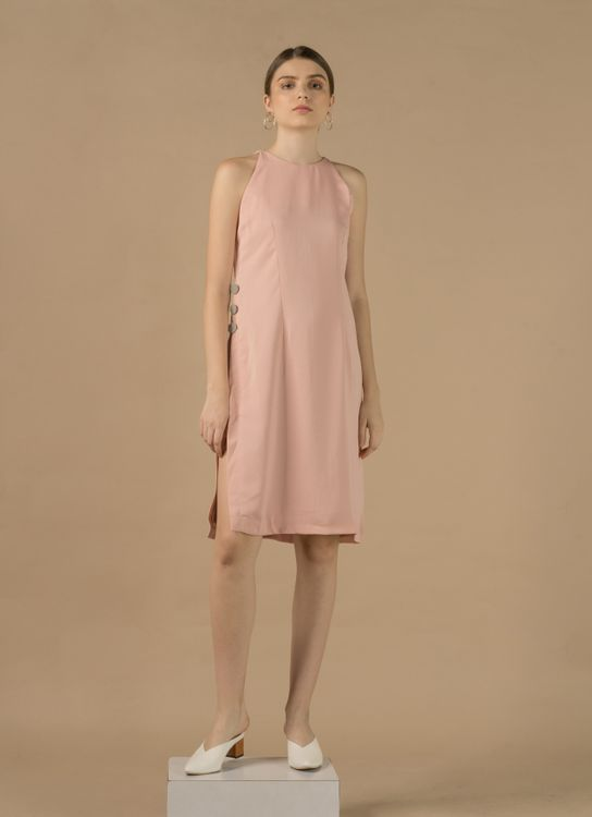 Zete Ava Dress - Soft Pink