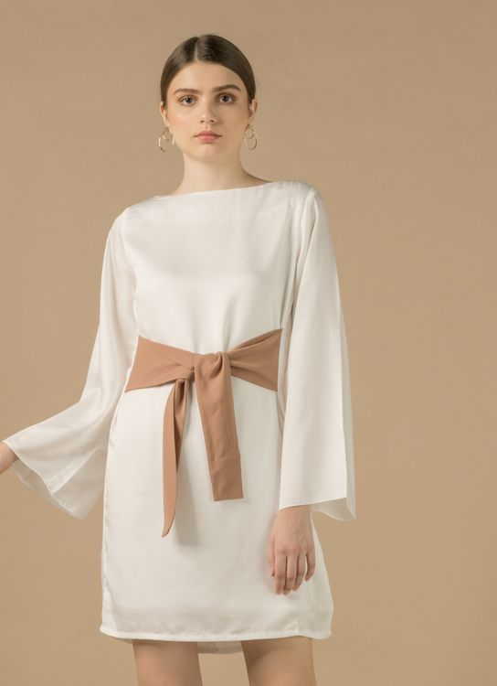Zete Joy Dress - White