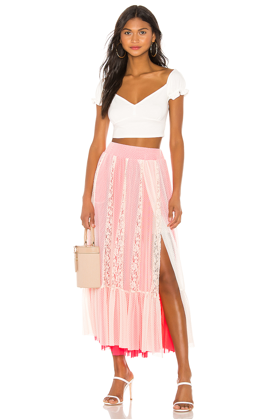 Hot As Hell Far Out Skirt