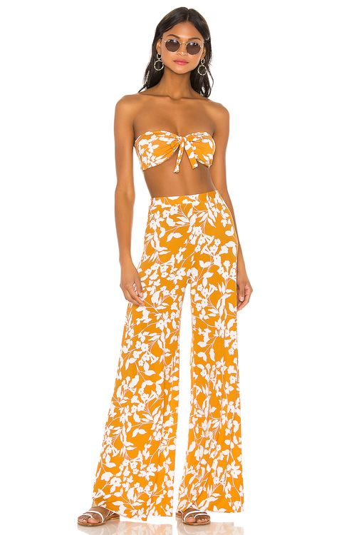 Endless Summer Santorini Set Yellow & White Floral
