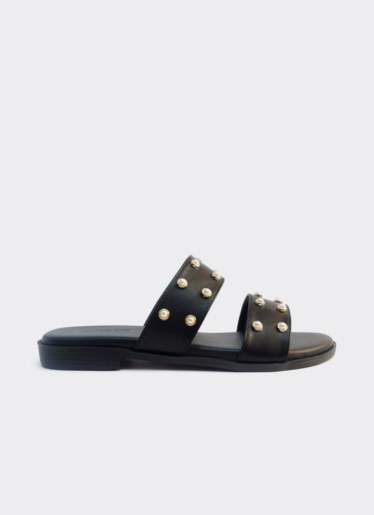 Nakedsol Ruby Slides - Black