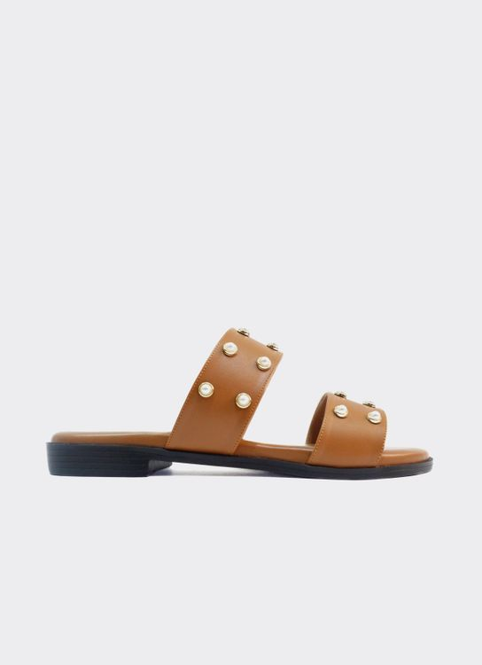 Nakedsol Ruby Slides - Tan