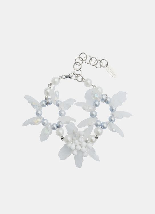 House of Jealouxy Edelweiss Bracelet - Clear White