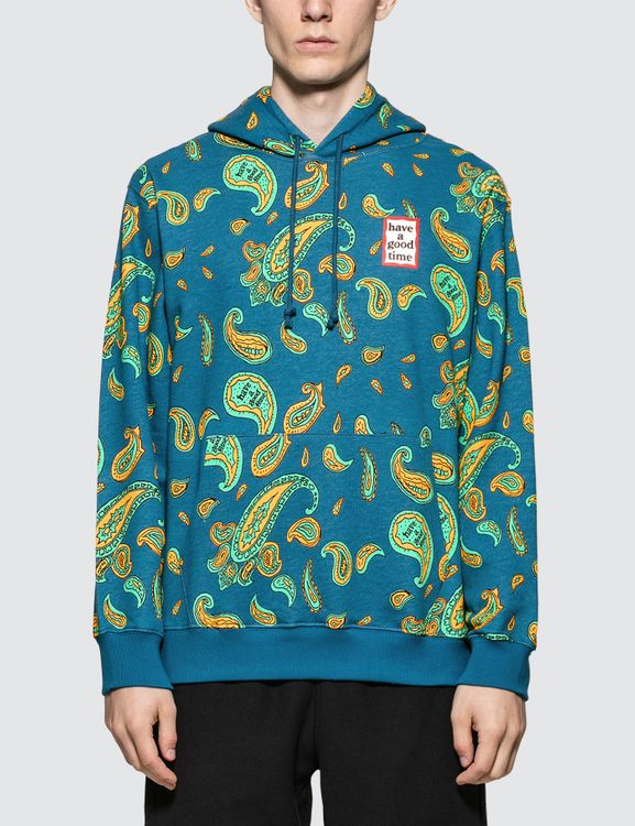 have a good time Paisley Mini Frame Pullover Hoodie
