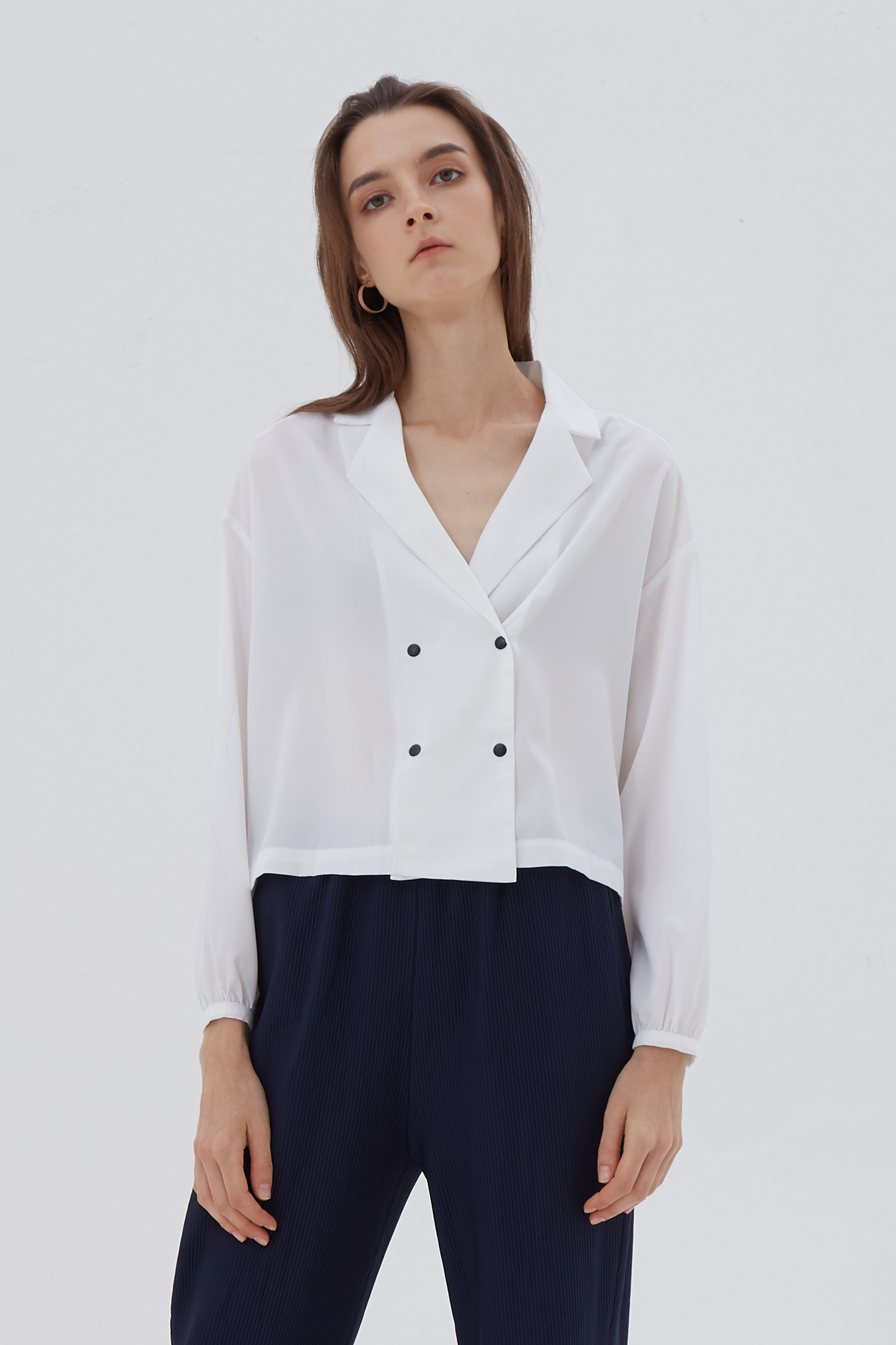 Shopatvelvet Frontier Shirt White