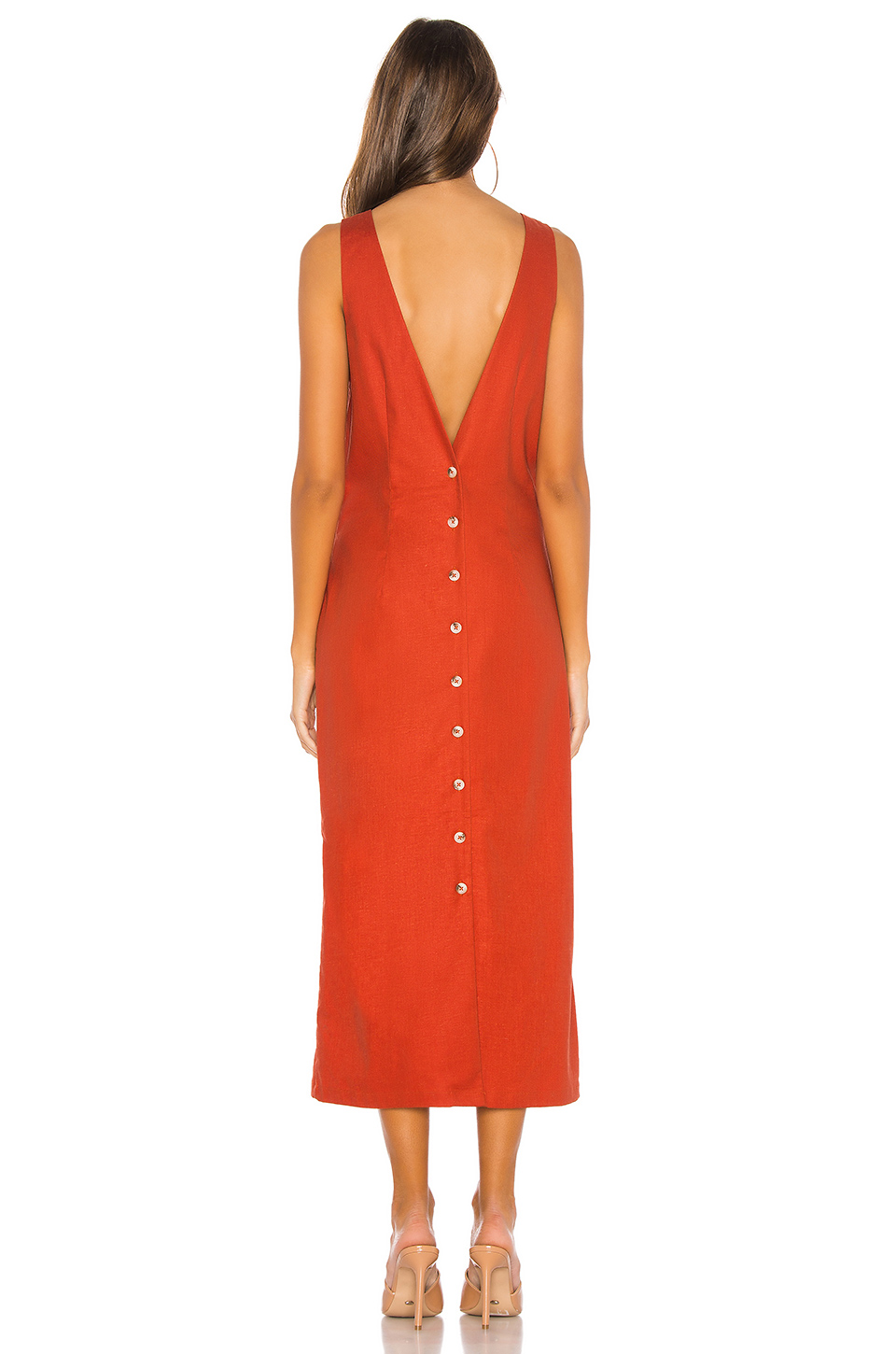 L'Academie The Darcy Midi Dress