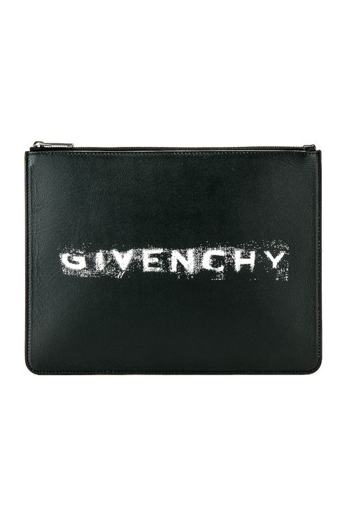 Givenchy Fading Logo Large Pouch