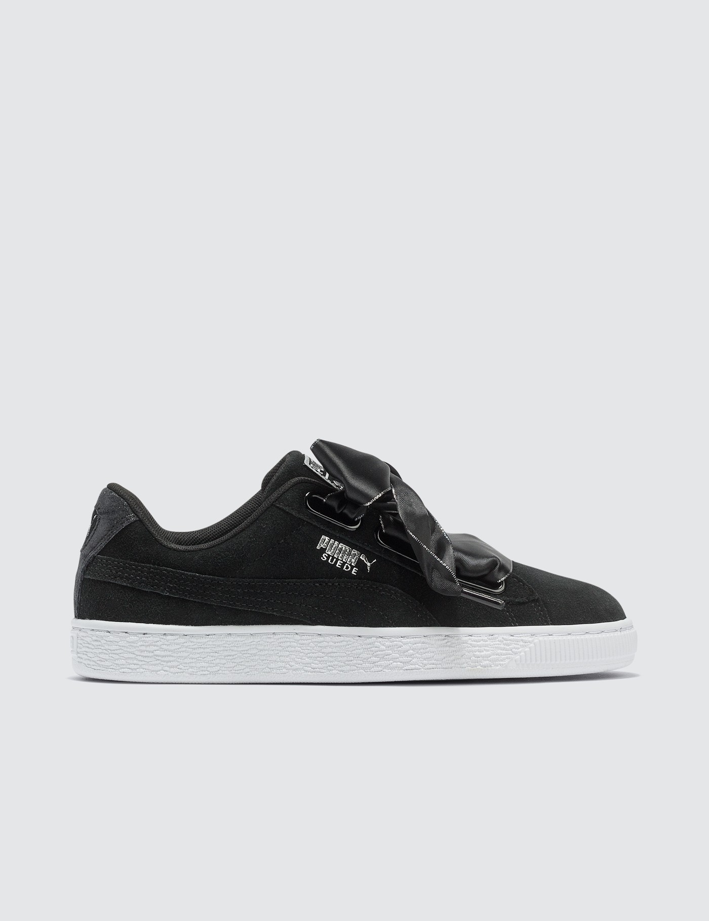 buy popular bdd2b ad5bc Black Suede Heart Galaxy Women's Sneaker, Puma