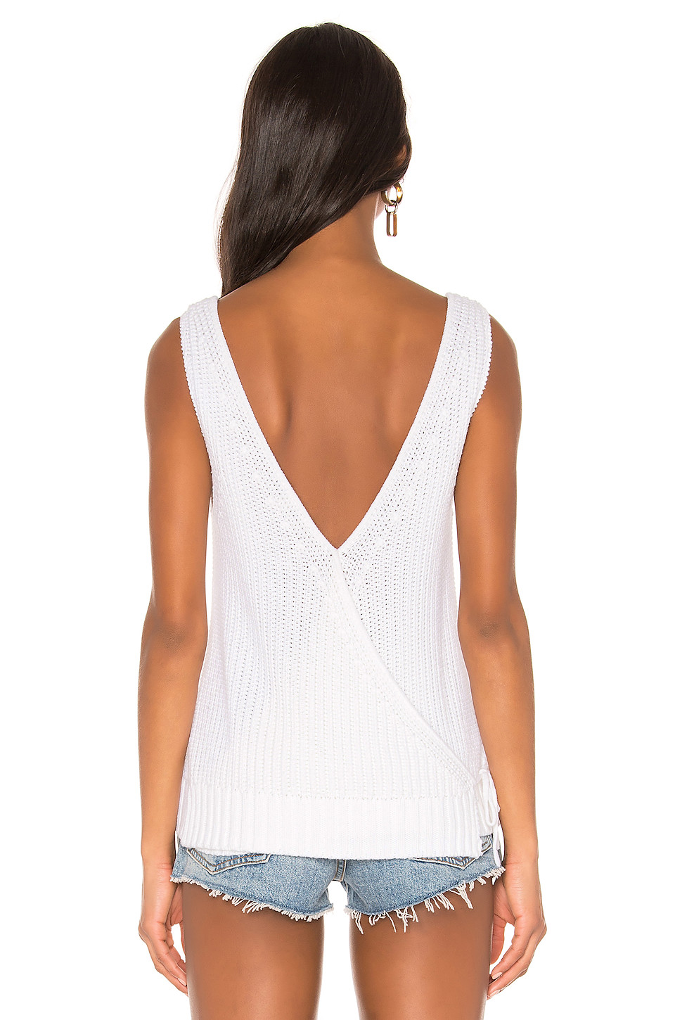 Autumn Cashmere Crossover Back Shaker Tank