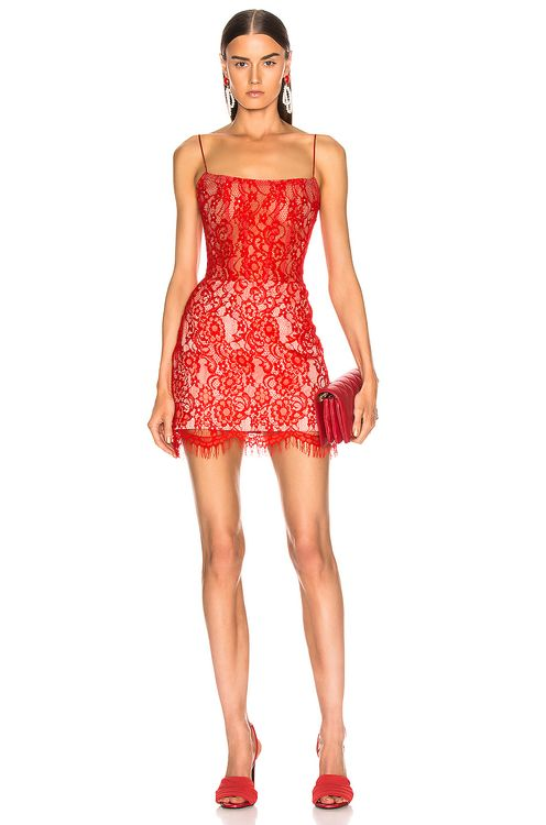 RASARIO for FWRD Lace Mini Dress