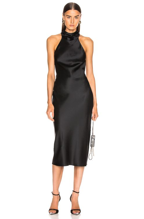 Cushnie Sleeveless High Neck Pencil Dress
