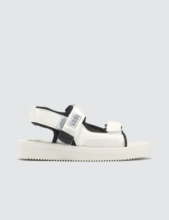 Suicoke W's White WAS-V Sandals