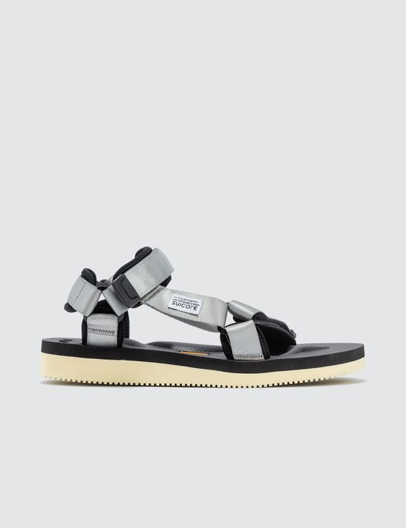 Suicoke Grey Depa-V2 Sandals