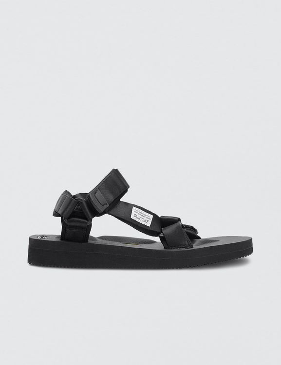 Suicoke Black Depa-V2 Sandals