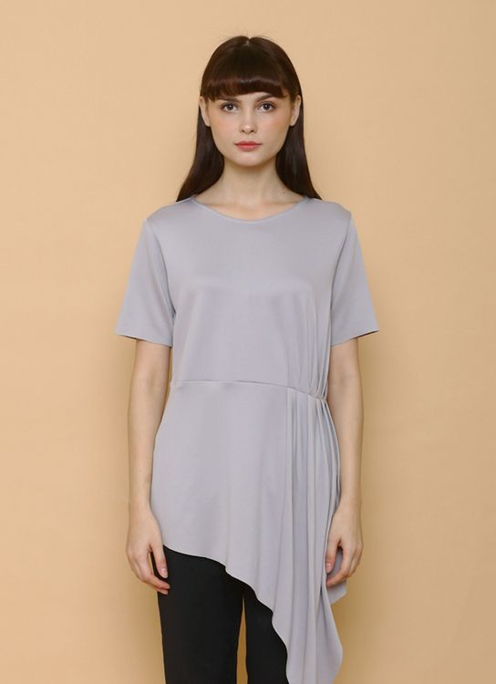Maja Studio Amelia Blouse - Gray