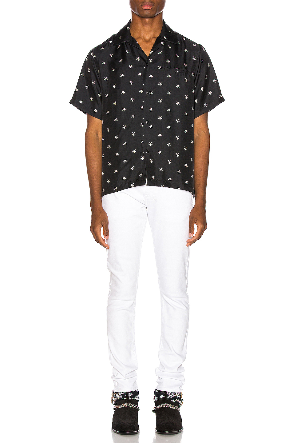 Amiri Star Short Sleeve Shirt