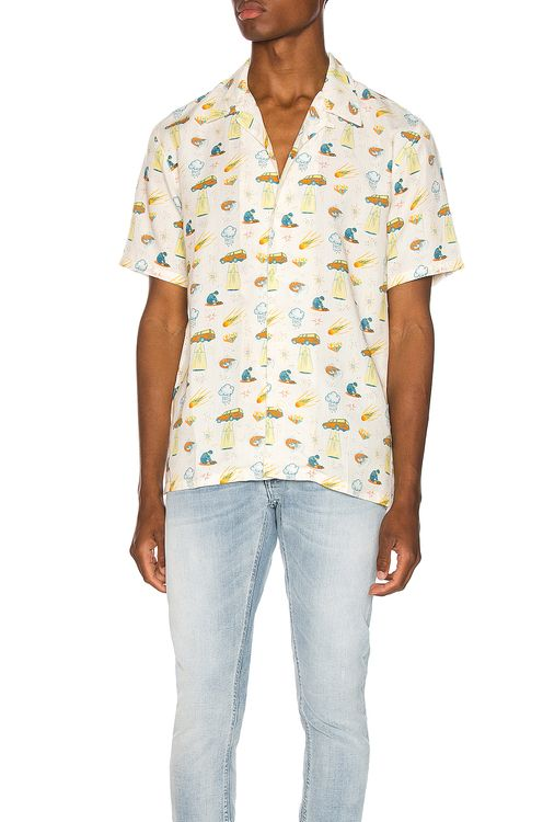 Nudie Jeans Arvid West Coast Remix Shirt