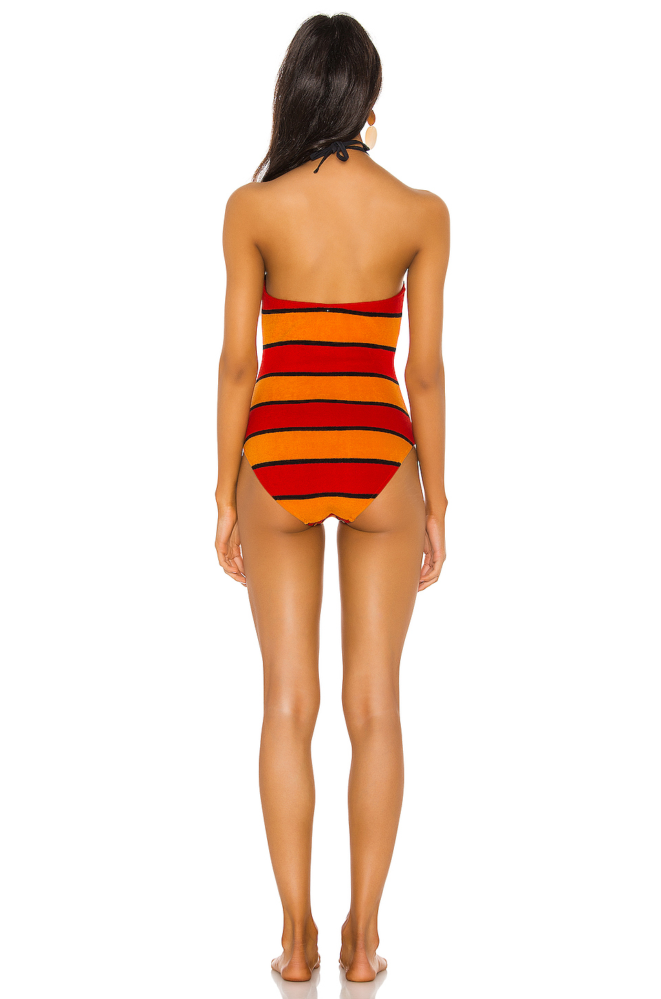 Solid & Striped Heather One Piece
