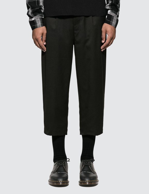 Monkey Time Black Wide Pants