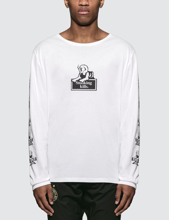 #FR2 x JUNGLES Smoking Kills L/S T-Shirt