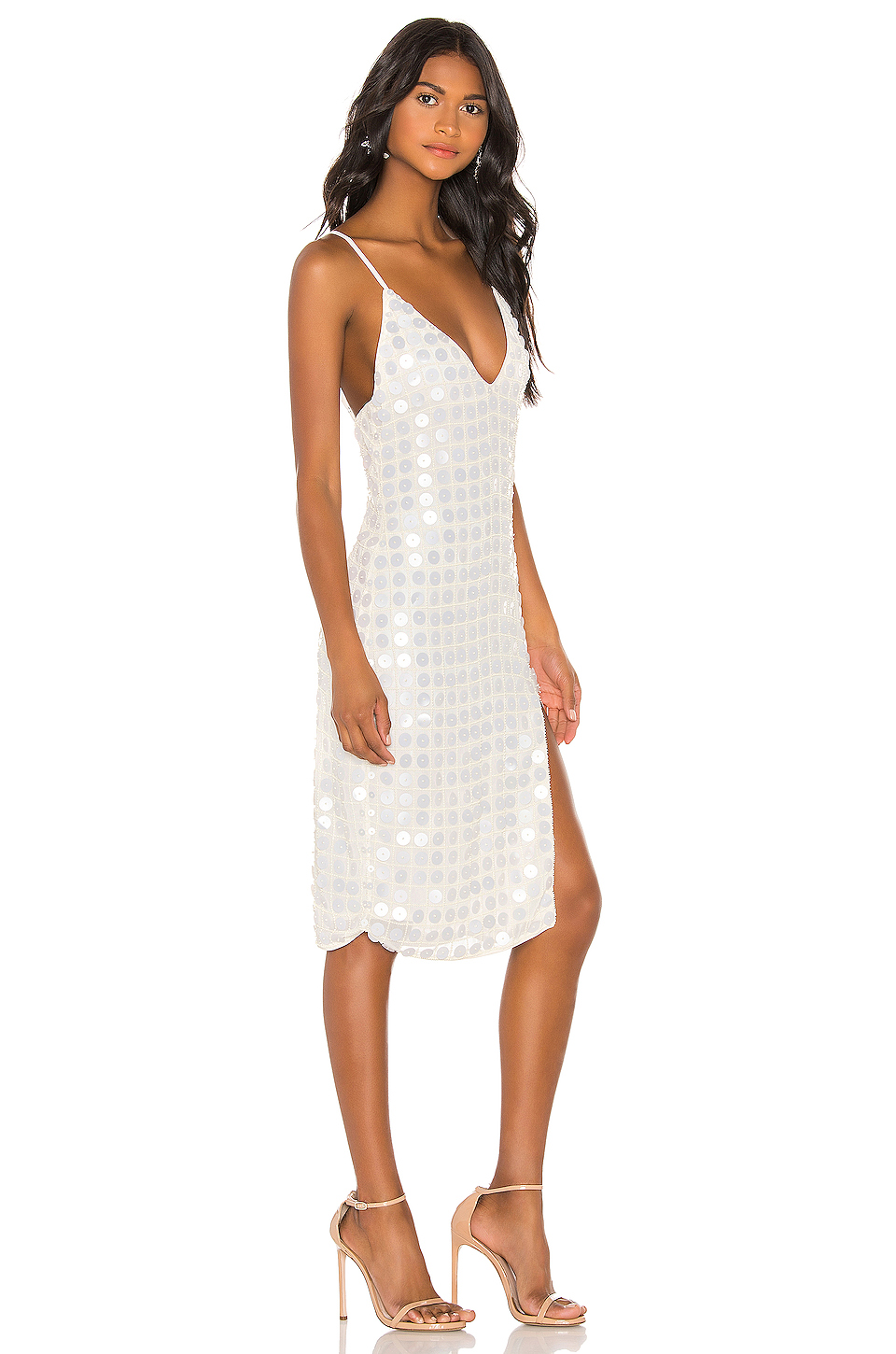 X by NBD Winny Midi Dress