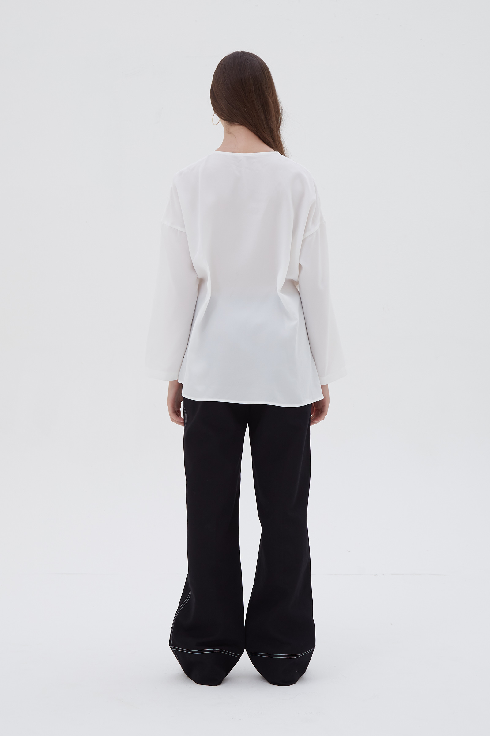 Shopatvelvet Rhapsody blouse white