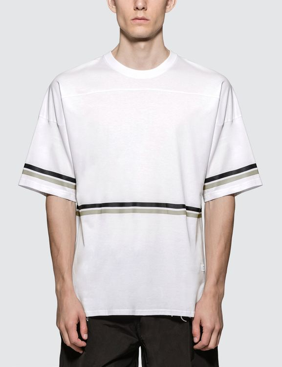 STAMPD White Hockey S/S T-Shirt