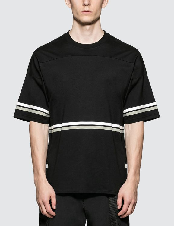 STAMPD Black Hockey S/S T-Shirt