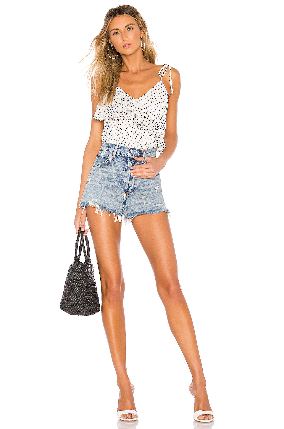 House of Harlow 1960 X REVOLVE Amelie Tank