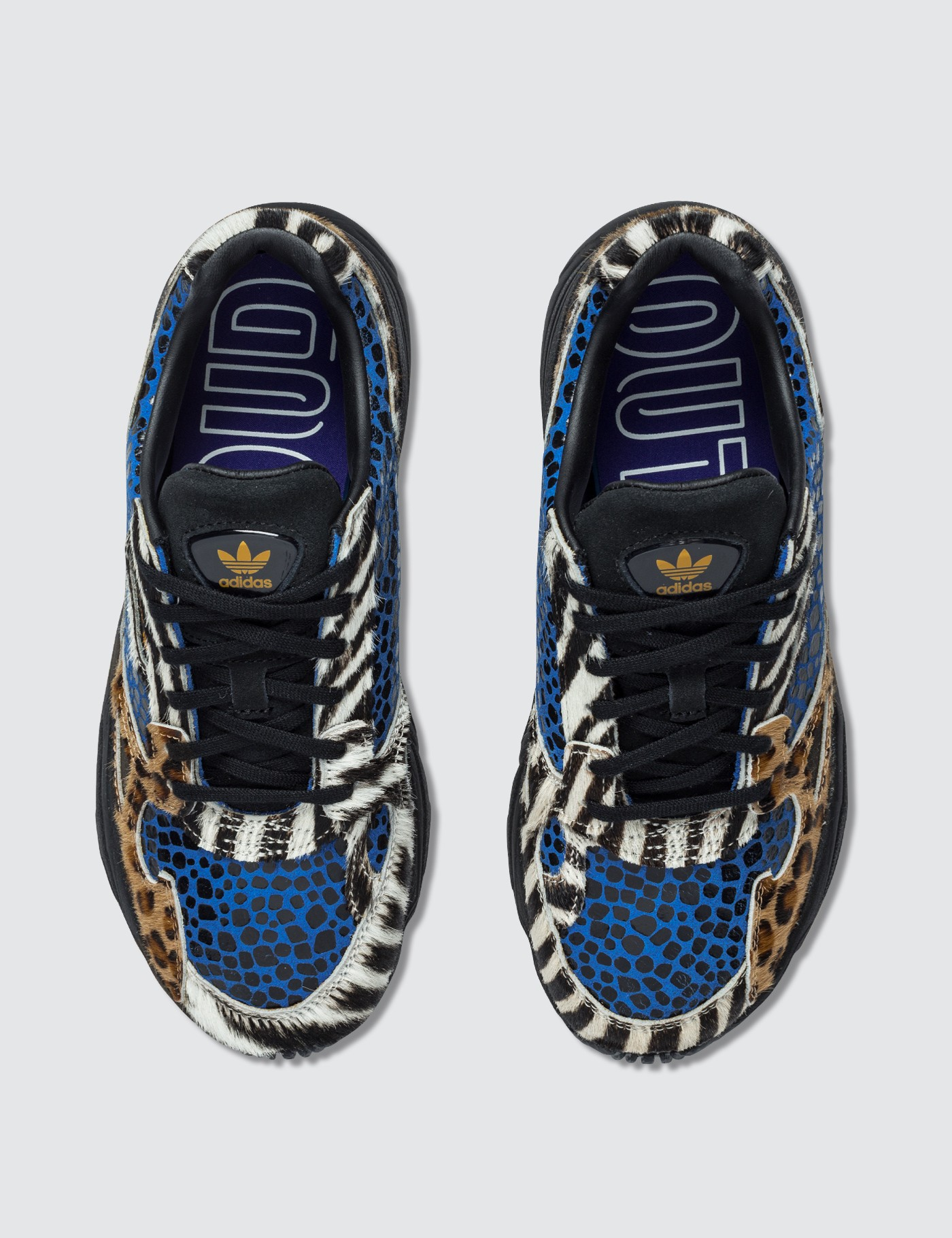 Adidas Originals Animals Print Falcon Sneaker