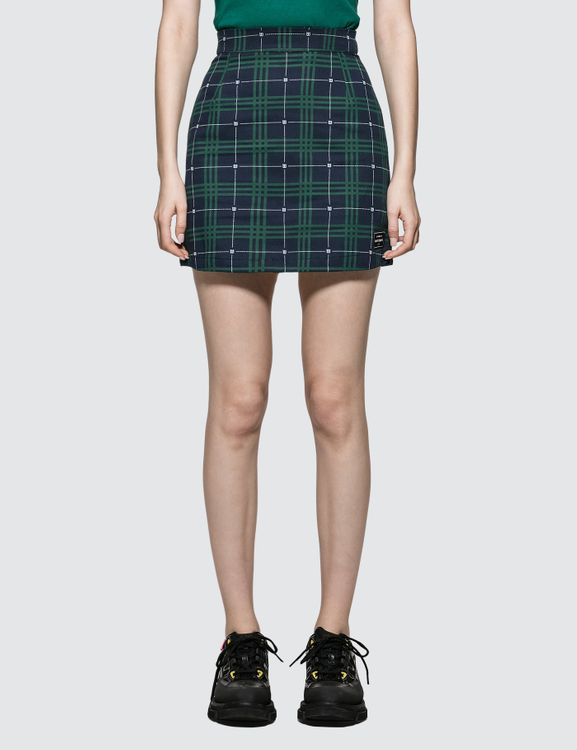 Wasted Paris Tartan Skirt