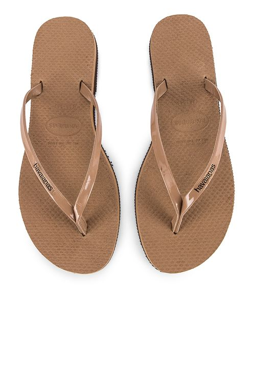 Havaianas You Metallic Flip Flop