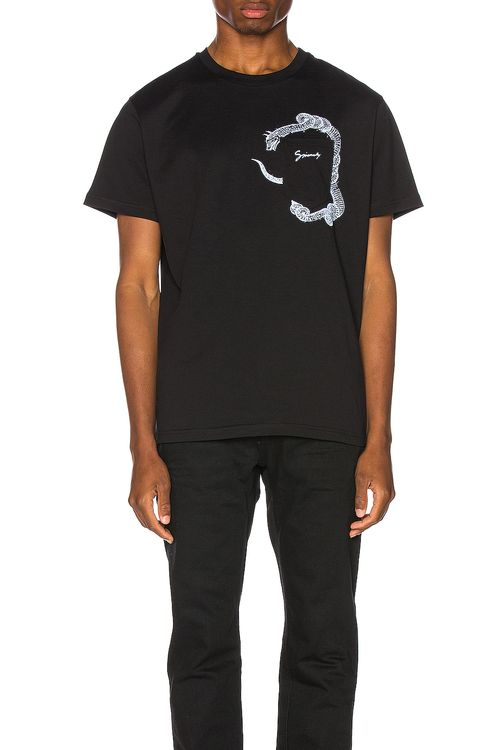 Givenchy Snake Pocket Tee