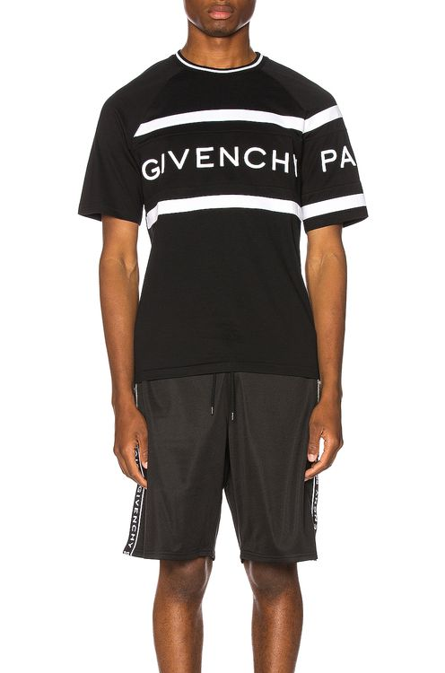 Givenchy Slim Fit Logo Band Tee