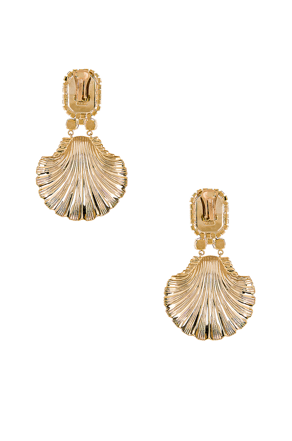 e09df6c046 Buy Original Alessandra Rich Shell Earrings at Indonesia | BOBOBOBO