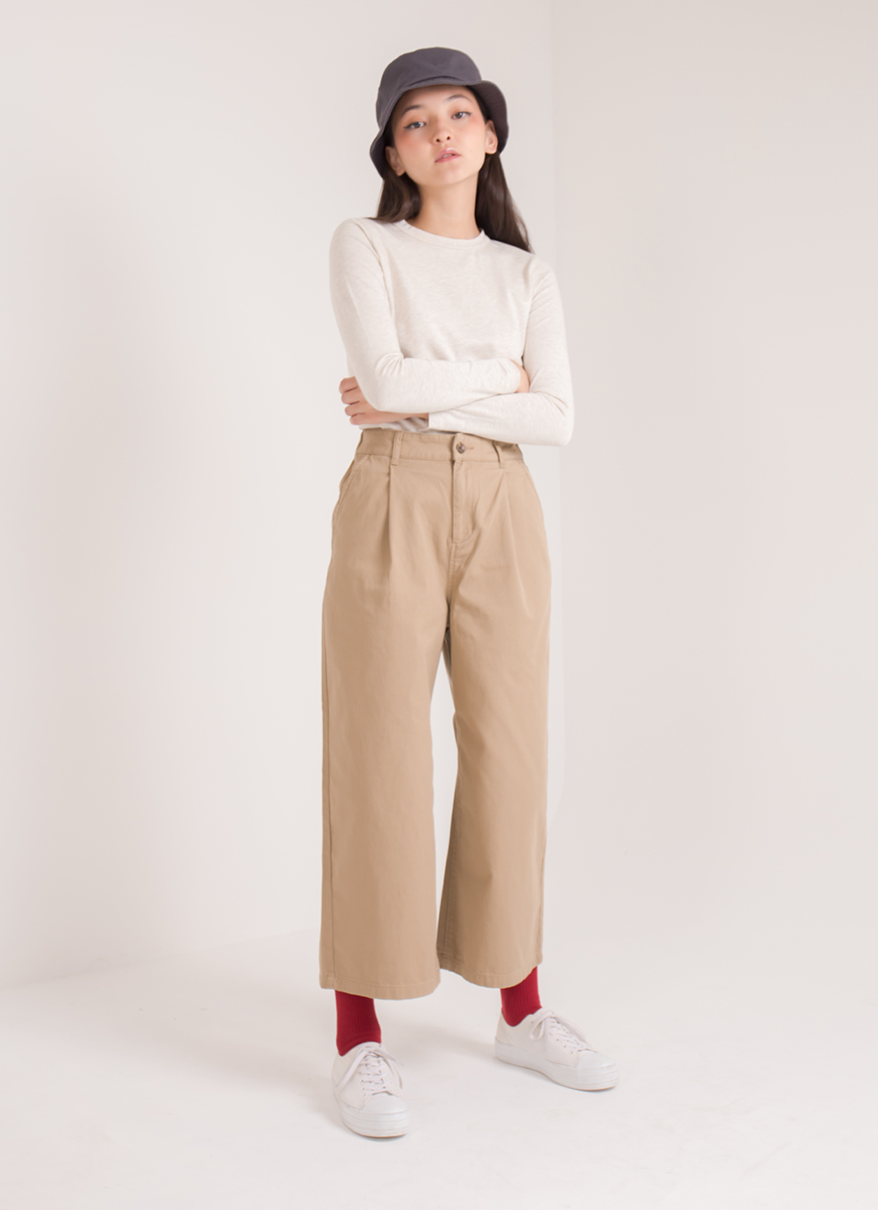 Earth, Music & Ecology Megan Pants - Beige