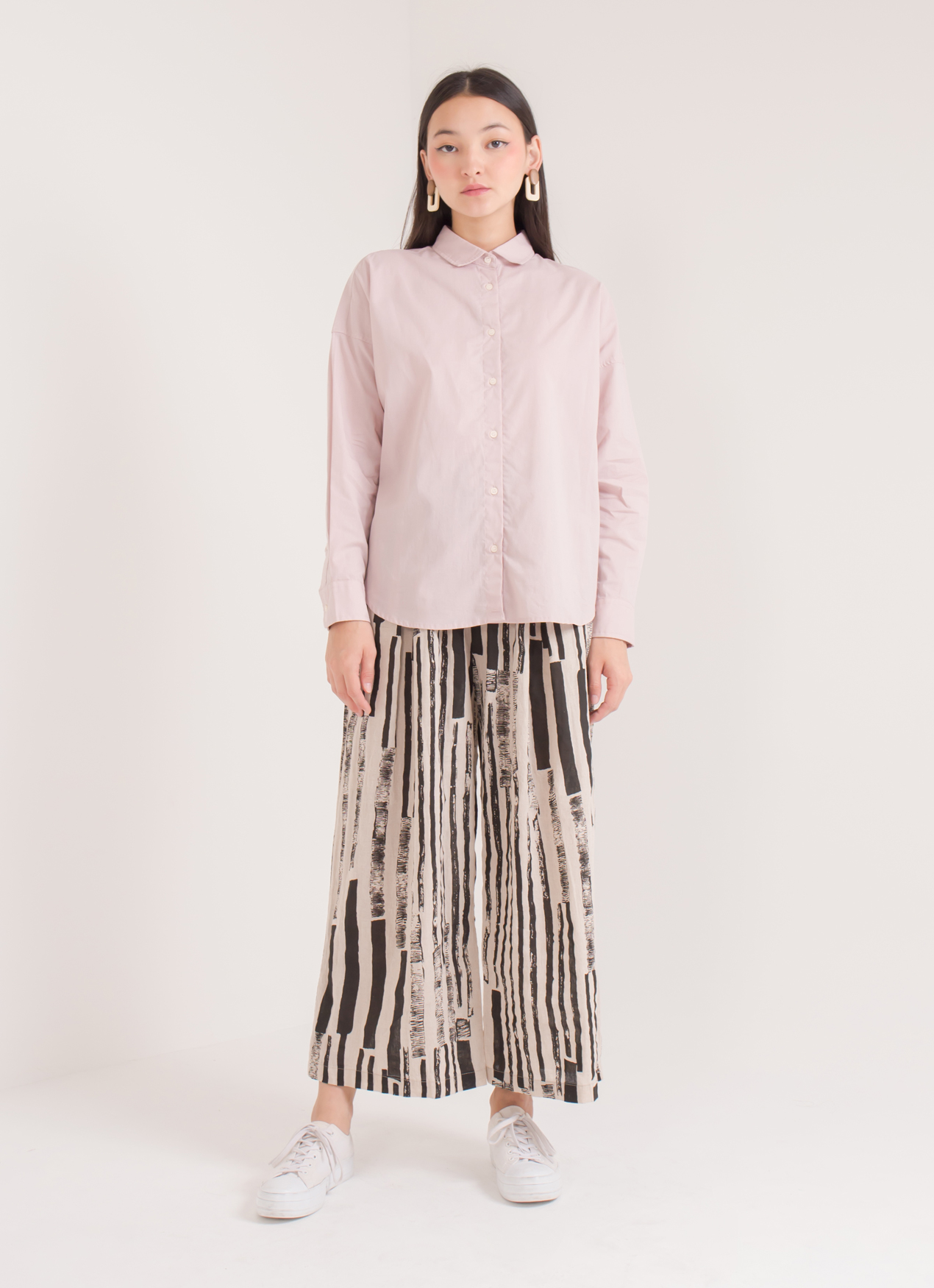 Earth, Music & Ecology Nanda Top - Pink Beige