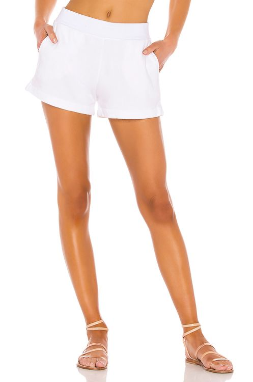 ENZA COSTA French Terry Short