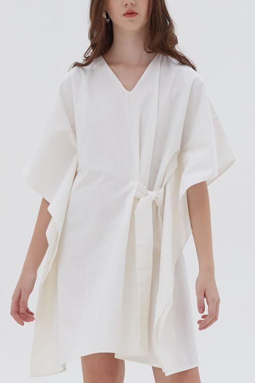 Shopatvelvet Meena Dress Off White