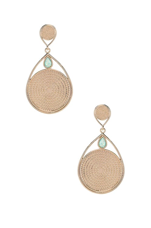 Elizabeth Stone Dangle Earrings