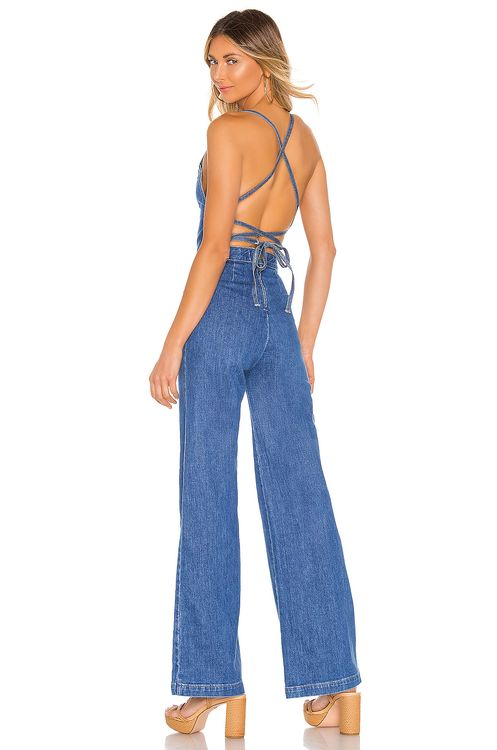 Stoned Immaculate Jean Genie Jumpsuit