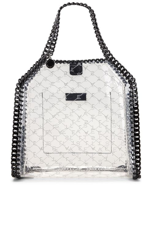 Stella McCartney Mini Clear Falabella Monogram Tote