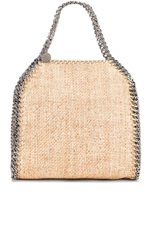 Stella McCartney Mini Rafia Falabella Tote