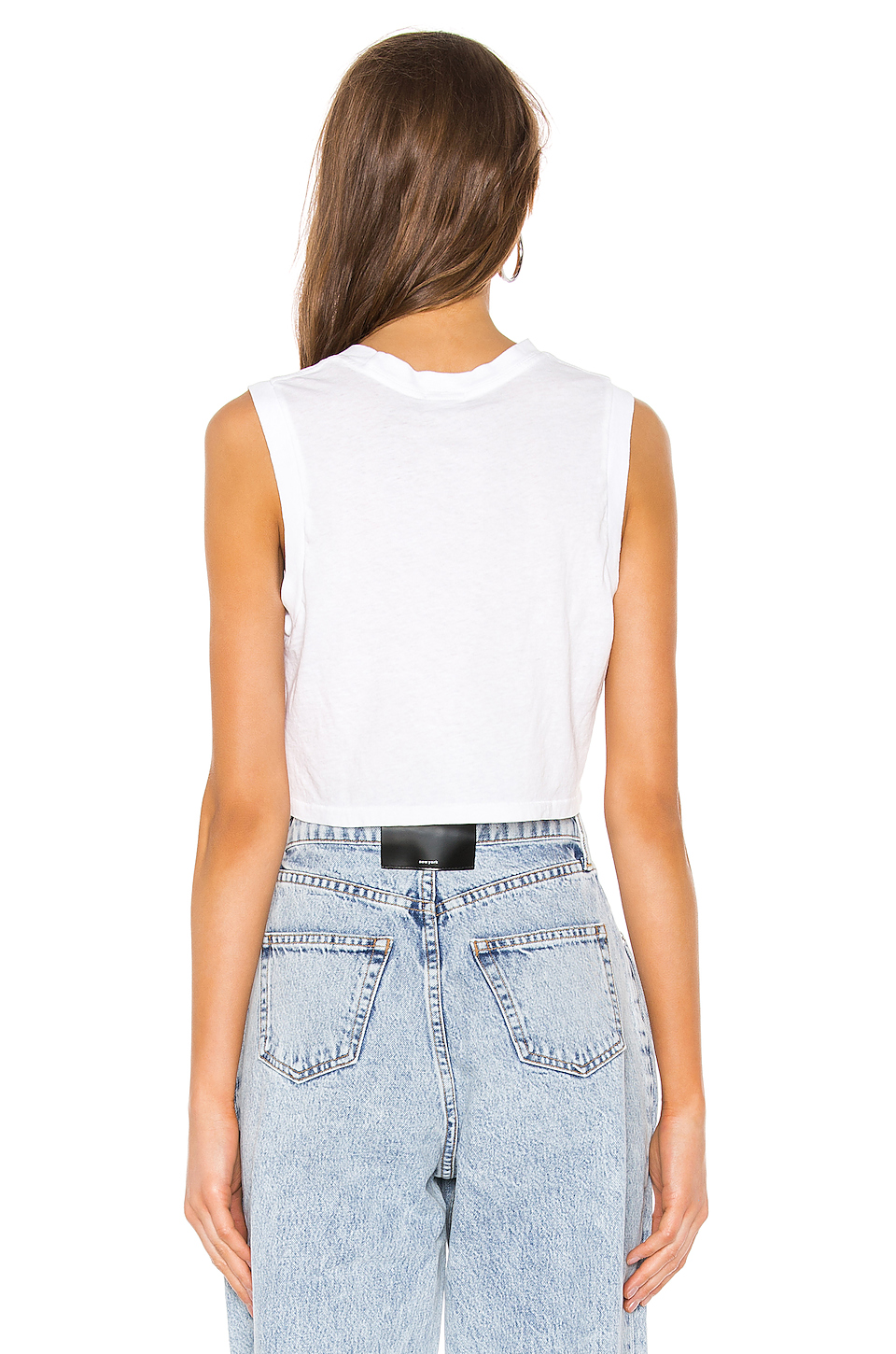 RE/DONE 70s Cropped Muscle Tank