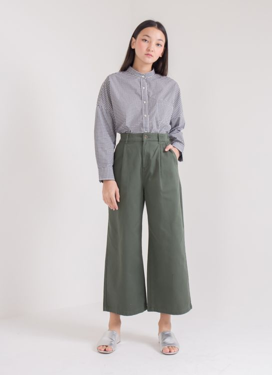 Earth, Music & Ecology Megan Pants - Khaki