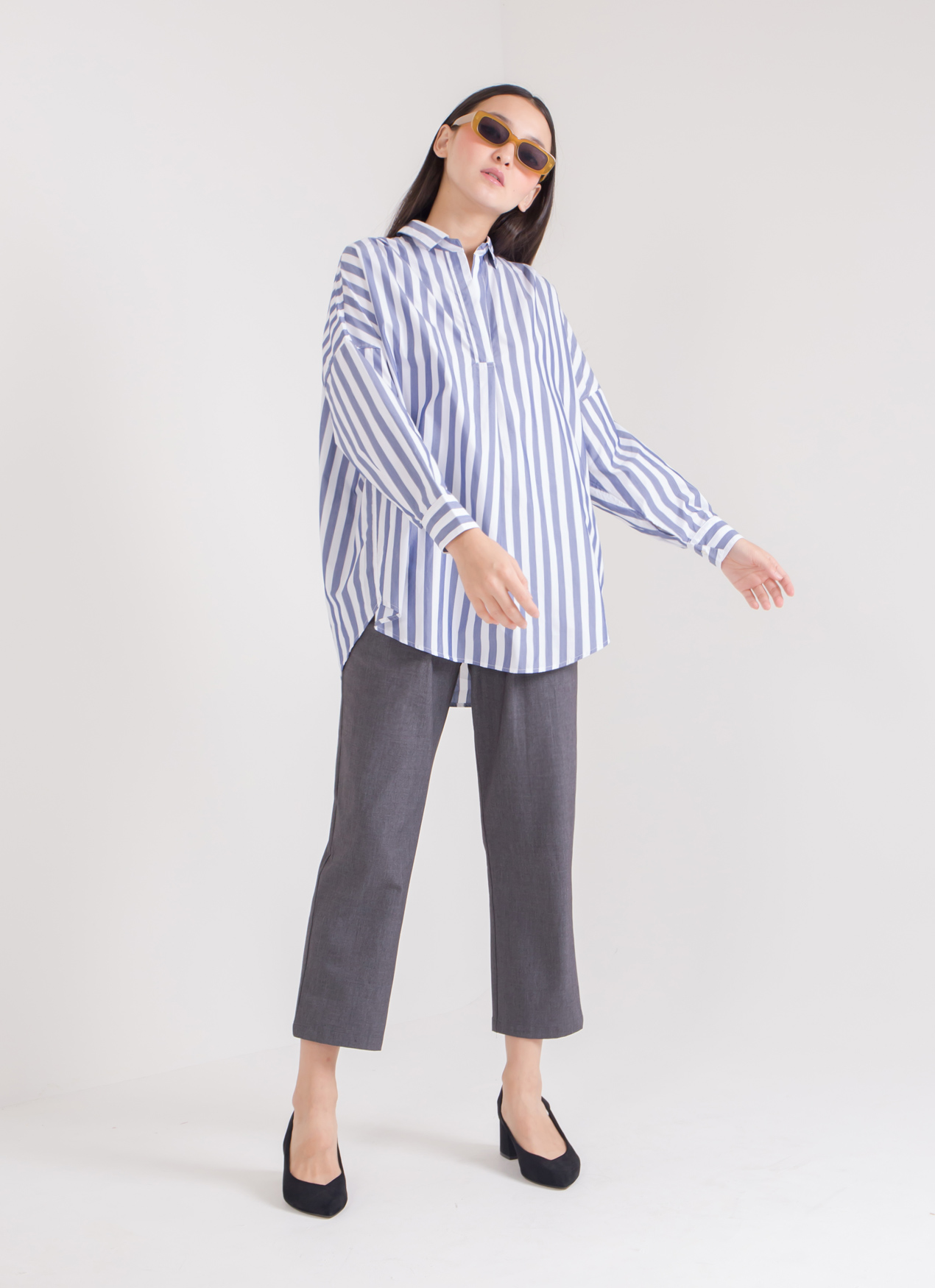 American Holic Amira Top - Stripe Navy
