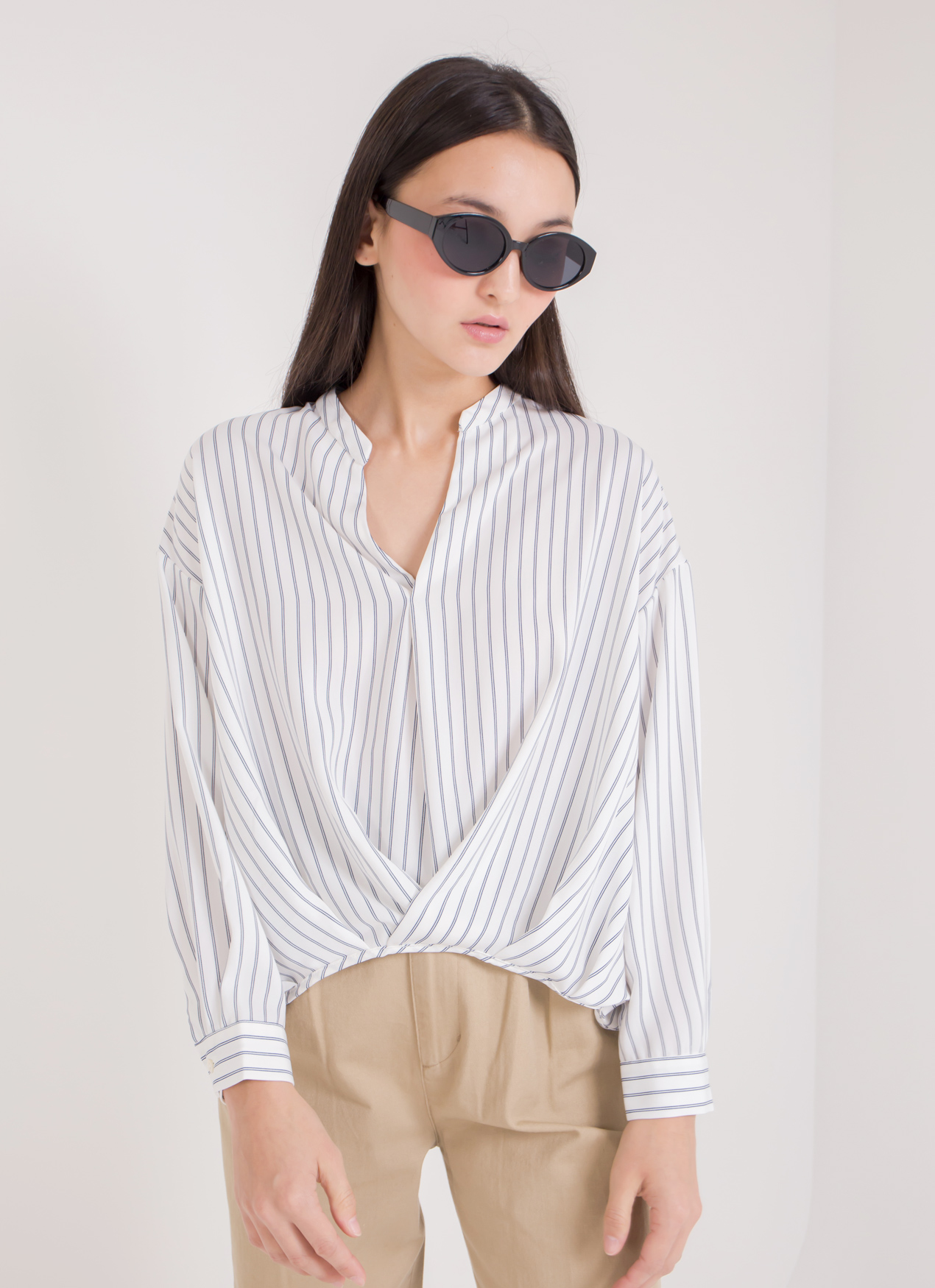 Earth, Music & Ecology Pamela Top - Stripe