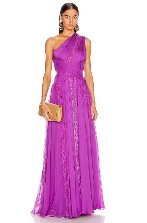 Zuhair Murad Silk Chiffon Long Dress