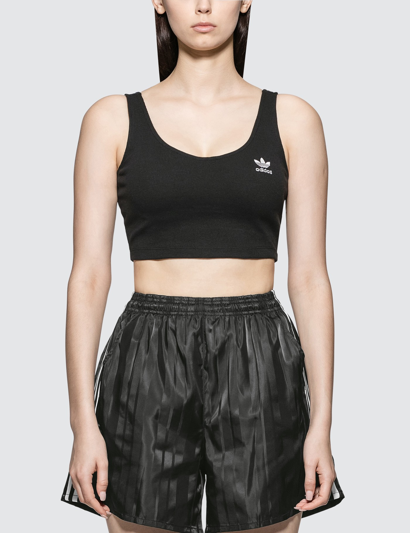 Adidas Originals Styling Complements Cropped Tank Top