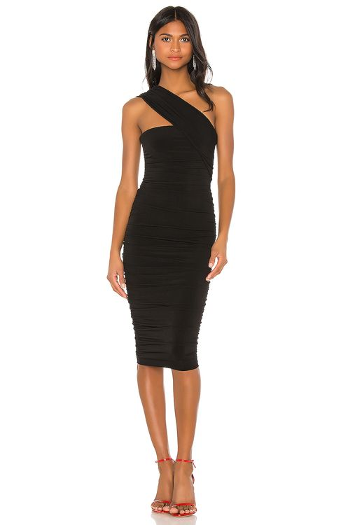 Nookie Temptation One Shoulder Midi